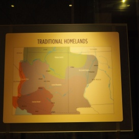 Map of the traditional homelands