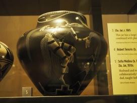 closeup of pottery
